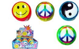 72 Units of Flashing Yo Yo Assorted - Light Up Toys