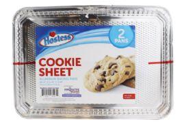 48 Units of Hostess Cookie Sheet 2 Pack - Aluminum Pans
