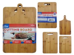 6 Units of 3pc Cutting Board+Handle - Kitchen Gadgets & Tools