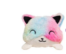 12 Units of Reversible Plush Cat - Plush Toys