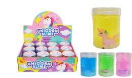 72 Units of Slime With Toy Unicorn - Slime & Squishees