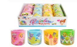 72 Units of Slinky Baby Shark - Light Up Toys