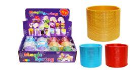 72 Units of Slinky Metallic - Light Up Toys