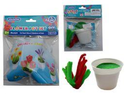 144 Units of Diy Craft Flower Pot - Garden Planters and Pots