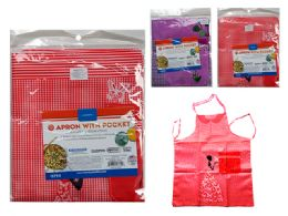 144 Units of Apron With 2 Pockets - Kitchen Aprons