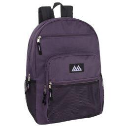 "24 Units of Deluxe Multi Pocket Backpack - Backpacks 18"" or Larger"