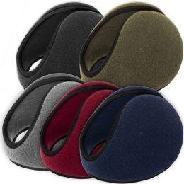 100 Units of Adult Fleece Ear Muffs - 5 Assorted Colors - Ear Warmers