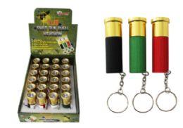 48 Units of Shotgun Shell LED Keychain - Key Chains