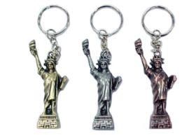 72 Units of Statue Of Liberty Keychain - Key Chains