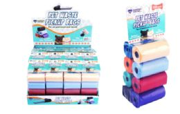 32 Units of Dog Waste Pick Up Bags 120 Count - Pet Grooming Supplies