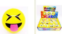 72 Units of EMOJI Ball With Light UP - Toys & Games
