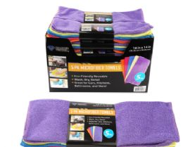 32 Units of Microfiber Towels 5 Pack - Towels