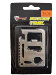 72 Units of 11 In 1 Pocket Tool - Hardware Gear