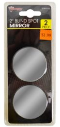 72 Units of Blind Spot Mirrors 2 Piece - Auto Care