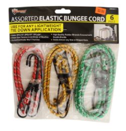 36 Units of Bungee Cord 6 Piece - Bungee Cords