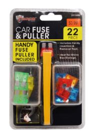 36 Units of Car Fuse And Puller Set 22 Piece - Auto Care