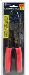 12 Units of Crimping Tool 9 Inch - Wrenches