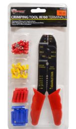 12 Units of Crimping Tool with Terminals - Wrenches