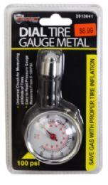 18 Units of Dial Tire Gauge Metal - Auto Care