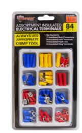24 Units of Insulated Terminals 84 Piece - Hardware