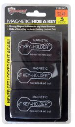 48 Units of Magnetic Key Holder 3 Piece - Key Chains