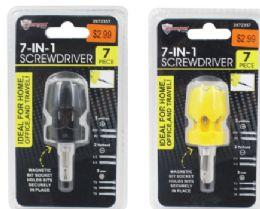 48 Units of Mini 7 In 1 Screwdriver - Screwdrivers and Sets