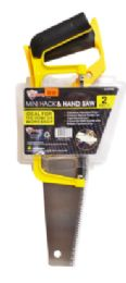 18 Units of Mini Hack Saw And Hand Saw - Saws