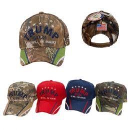 24 Units of Trump 2024 Hat He Will Be Back - Baseball Caps & Snap Backs