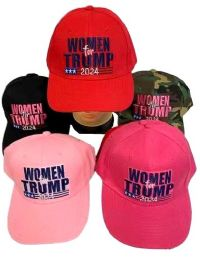 24 Units of Woman For Trump Baseball Cap 2024 - Baseball Caps & Snap Backs