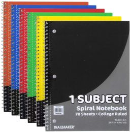 24 Units of 1 Subject Notebook - College Ruled - 70 Sheets - Note Books & Writing Pads