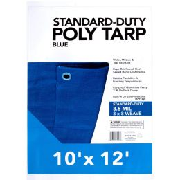 25 Units of Blue Tarps - 10' X 12' - Tarps