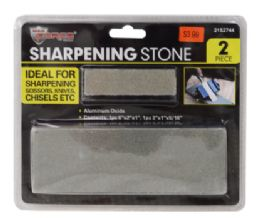 36 Units of Sharpening Stones 2 Piece - Tool Sets