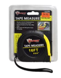 24 Units of Tape Measure With Rubber Cover - Tape Measures and Measuring Tools