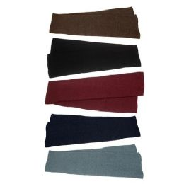 48 Units of Unisex Winter Scarf in 5 Assorted Colors - Winter Care Sets