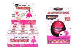 72 Units of Matching Hatching Growing Flamingo Egg - Animals & Reptiles