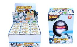 48 Units of Matching Hatching Growing Penguin Egg - Animals & Reptiles