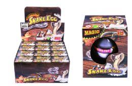 72 Units of Matching Hatching Growing Snake Egg - Animals & Reptiles