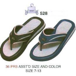 36 Units of Mens Flip Flops - Men's Flip Flops and Sandals