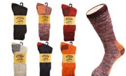 24 Units of Womens Thermal Work Sock 2 Pairs - Womens Thermal Socks