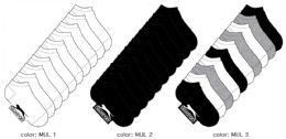 360 Units of Girl's Athletic Low Cut Socks - Size 4-6 - Girls Socks & Tights