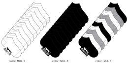 360 Units of Women's Athletic Low Cut Socks - Size 9-11 - Girls Socks & Tights