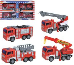 12 Units of Friction Rescue Vehicle - Cars, Planes, Trains & Bikes