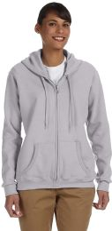 24 Units of Gildan Womens Zipper Hoodie Assorted Colors And Sizes. - Womens Sweaters & Cardigan