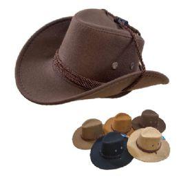 24 Units of KIds/Child's Cowboy Hat Rope Hat Band - Cowboy & Boonie Hat