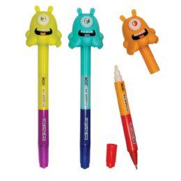 12 Units of Alien Eye UV Spy Pens - Pens