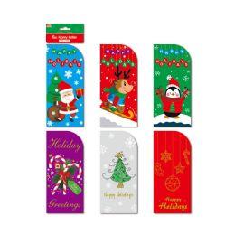 72 Units of 6ct xmas money holder - Christmas Novelties