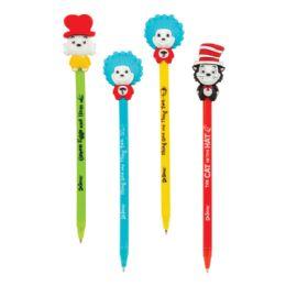 24 Units of Dr. Seuss 3D Character Pens - Pens