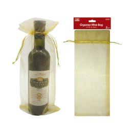 48 Units of fabric wine bag - Gift Bags Christmas