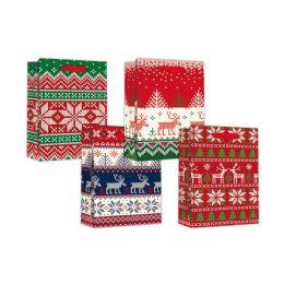 96 Units of Large Xmas Bag - Gift Bags Christmas