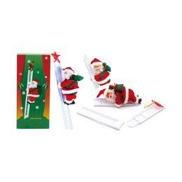 36 Units of Santa Climb Ladder - Gift Bags Christmas